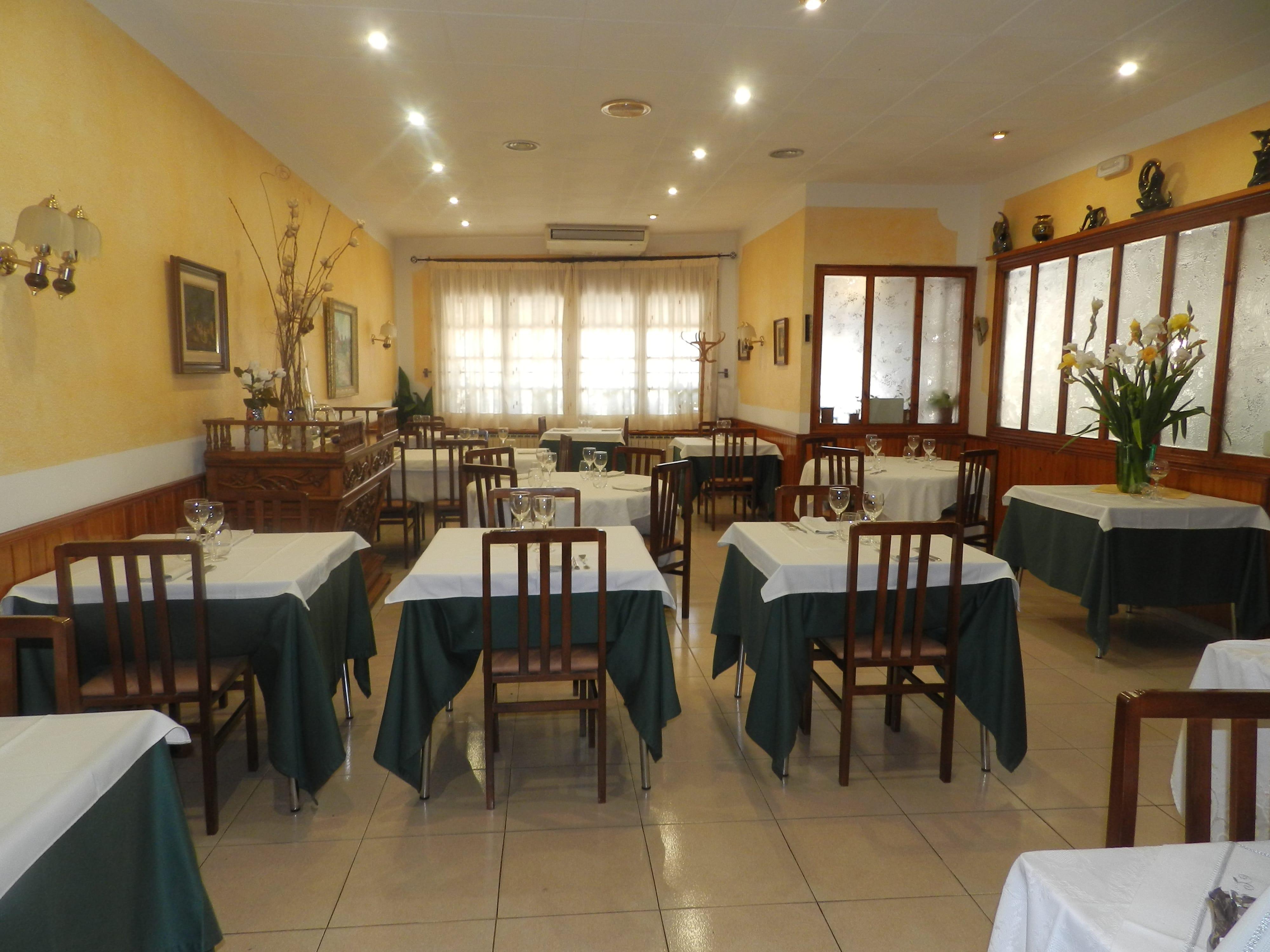 Restaurante en la Conca de Barberà