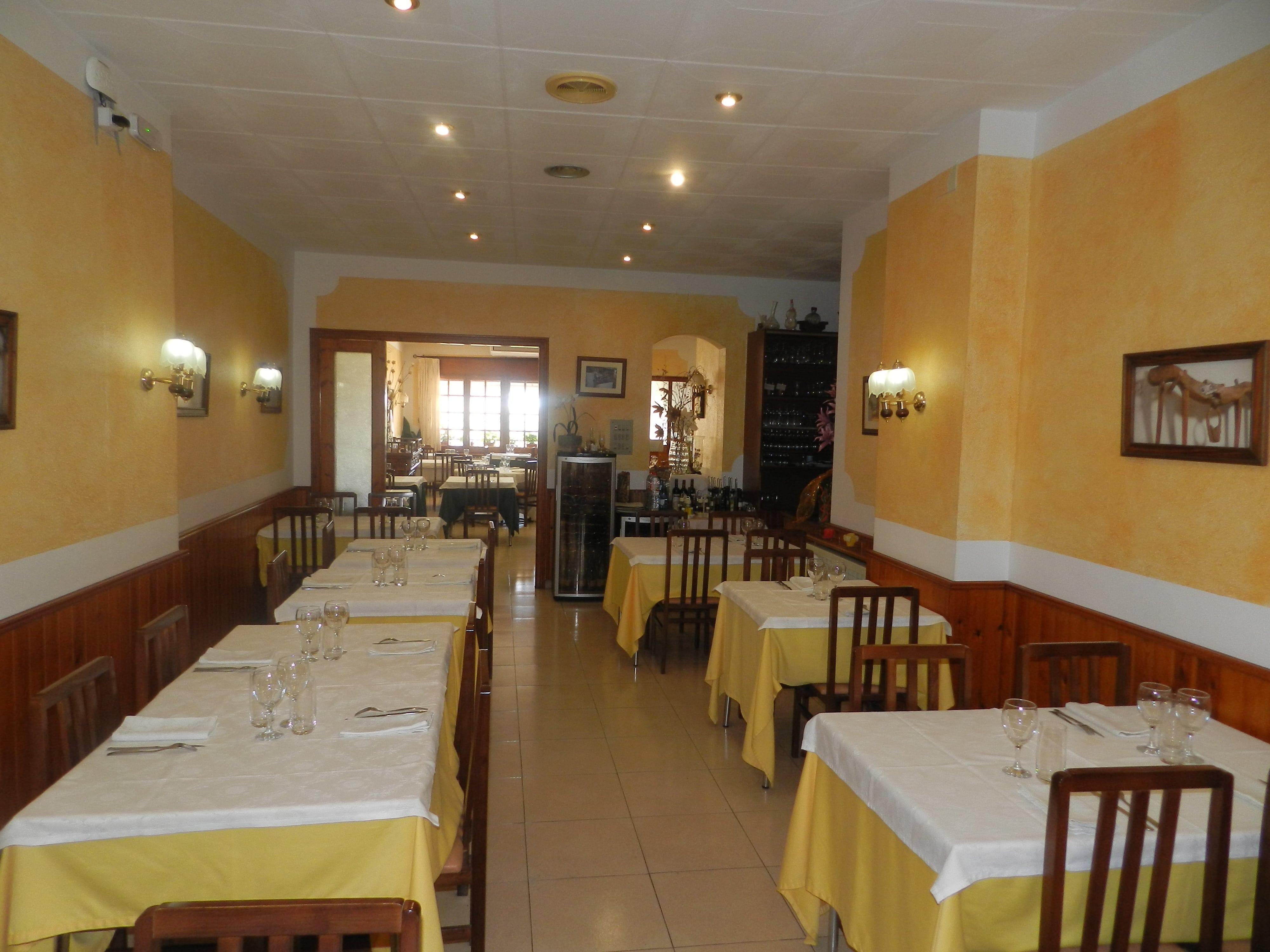 interior 2 Restaurante en la Conca de Barberà
