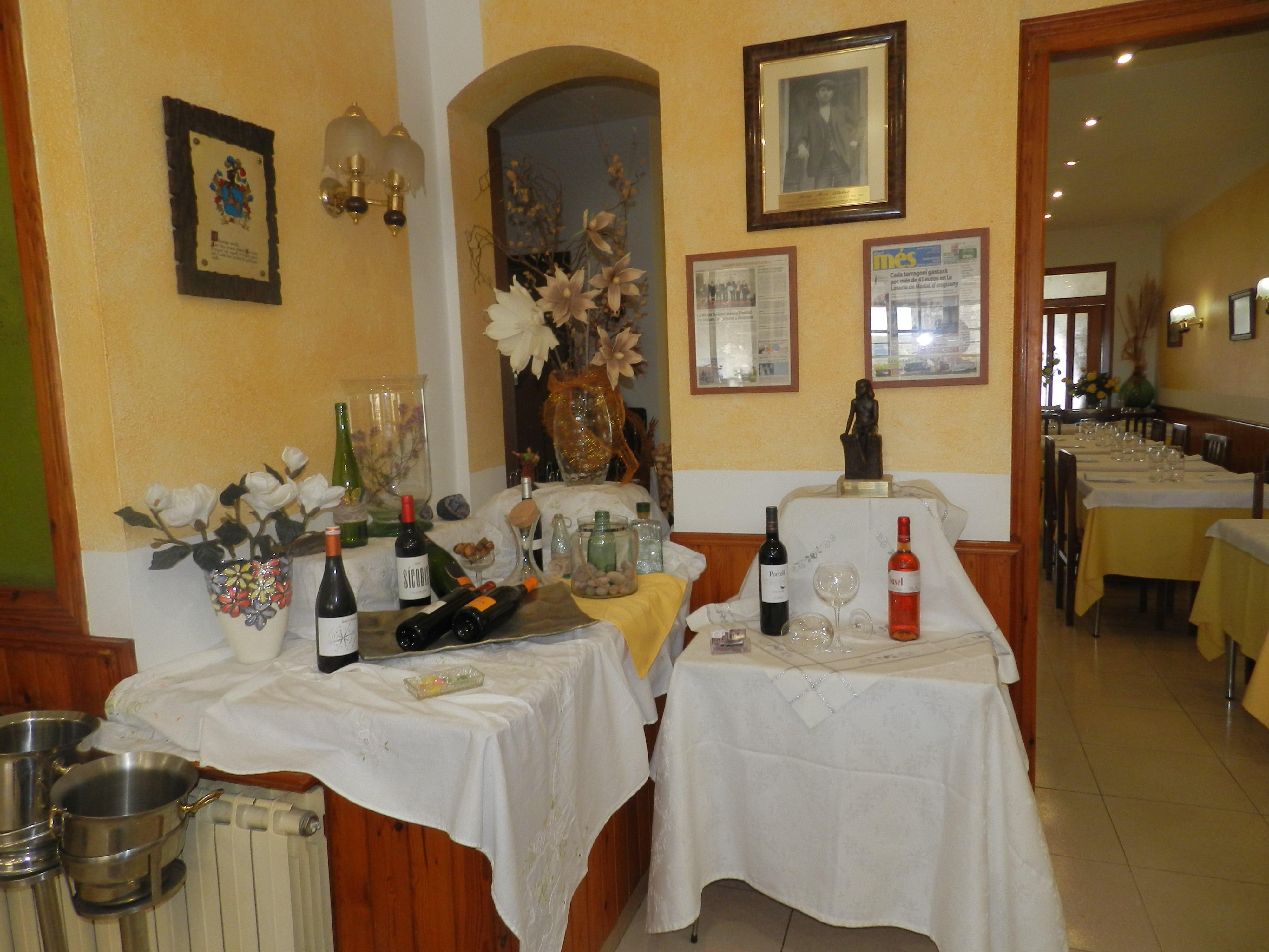 interior Restaurante en la Conca de Barberà